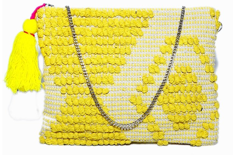 Yellow Cotton Pouch