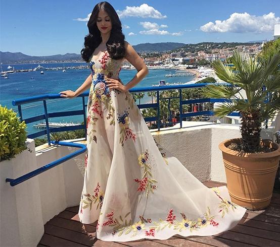 Aishwarya Rai Cannes Gowns