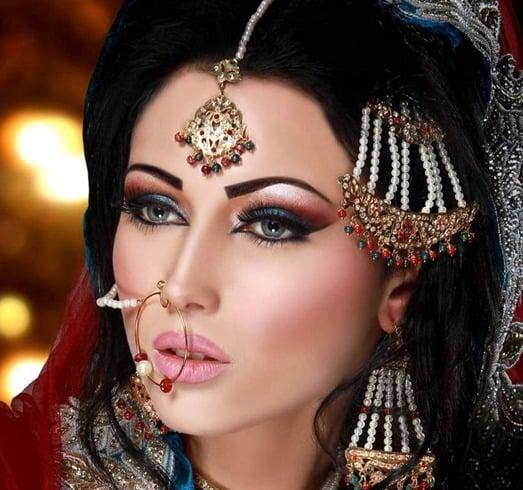 your stepbystep tutorial to arabic bridal makeup
