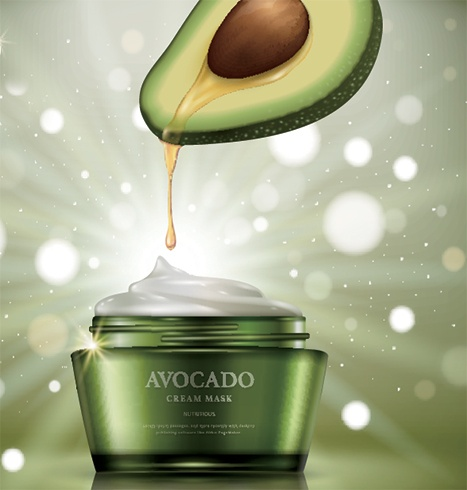 Avocado Oil anti-aging skin cream