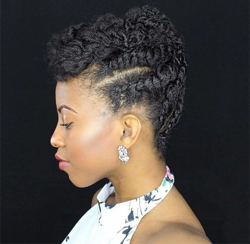 39 Gorgeous Natural Hairstyles For Short Medium And Long Hair Indian Fashion Blog