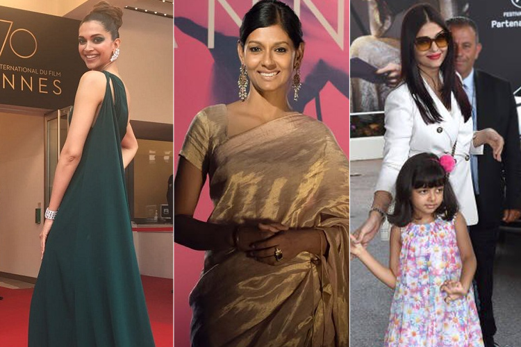 Bollywood Stars at Cannes 2017 Day2
