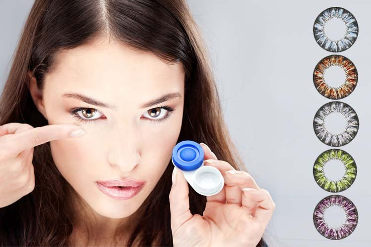 Contact Lenses For Girl