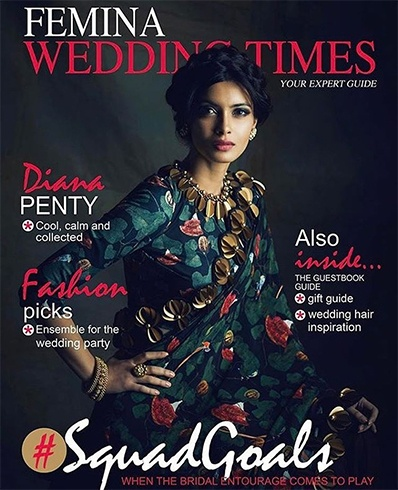 Diana Penty on Femina Wedding Times