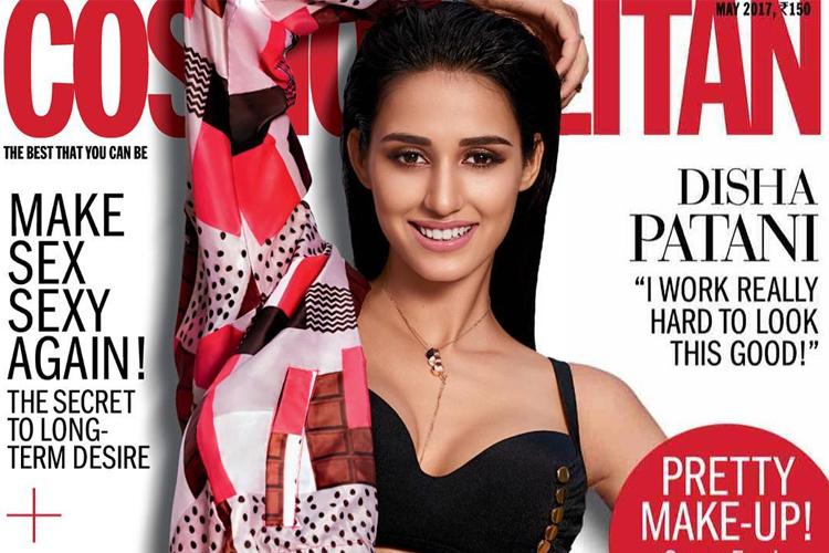 disha patani cosmopolitan cover may 2017