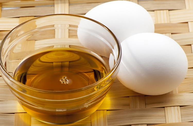 Egg and Castor Oil Mask