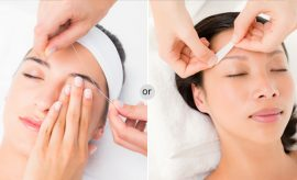Eyebrow Threading and Waxing