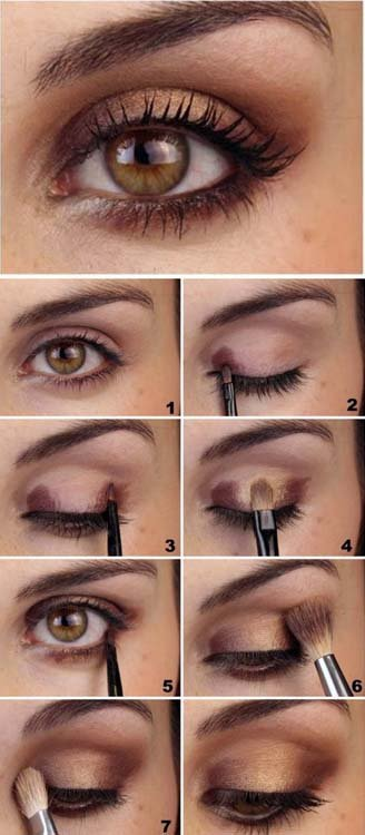 Hazel Eyes Makeup