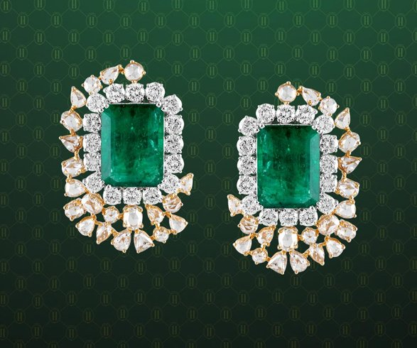 Hazoorilal Earrings for Wedding