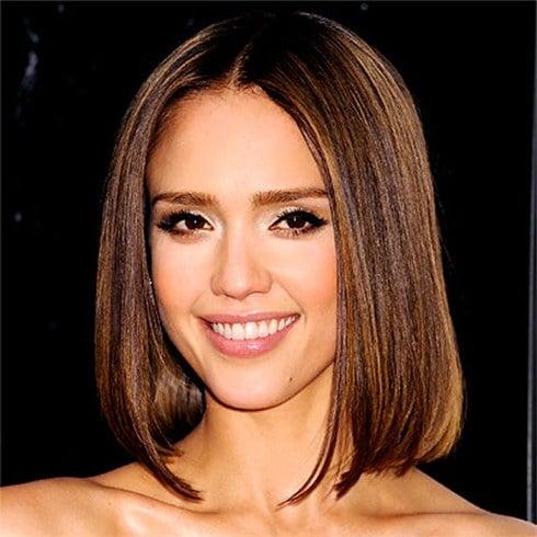 Jessica alba hair a style icon we all love jessica alba long hair urmus Images