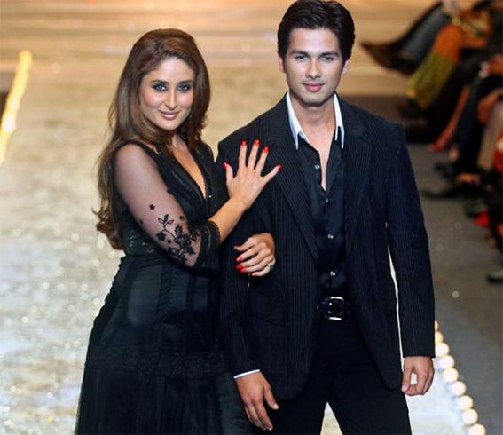 Kareena Kapoor with Shahid Kapoor Past Relationship