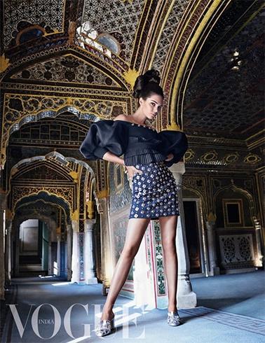 Kendall Jenner Vogue Photoshoot