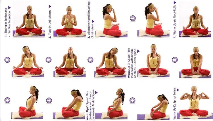 Kundalini Yoga Sequence