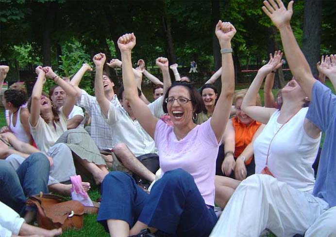 Laughter Yoga Exercises