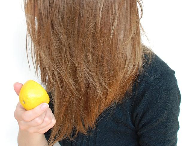 Lemon Juice for Grey Hair