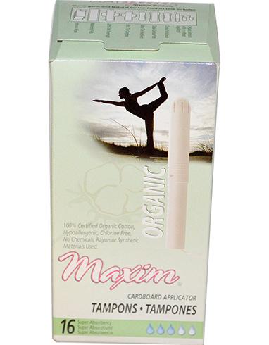 Maxim Organic Tampons
