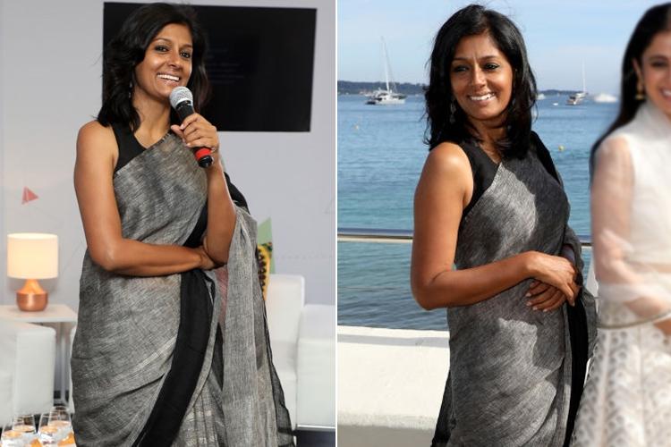 Nandita Das Sari Style