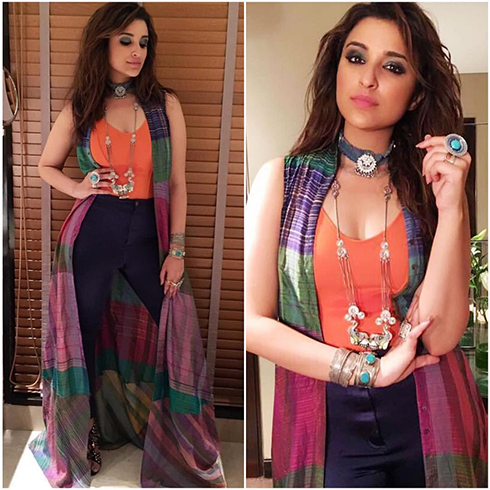 Parineeti Chopra Promotional Style