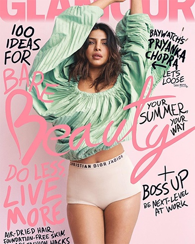 Priyanka Chopra on Glamour