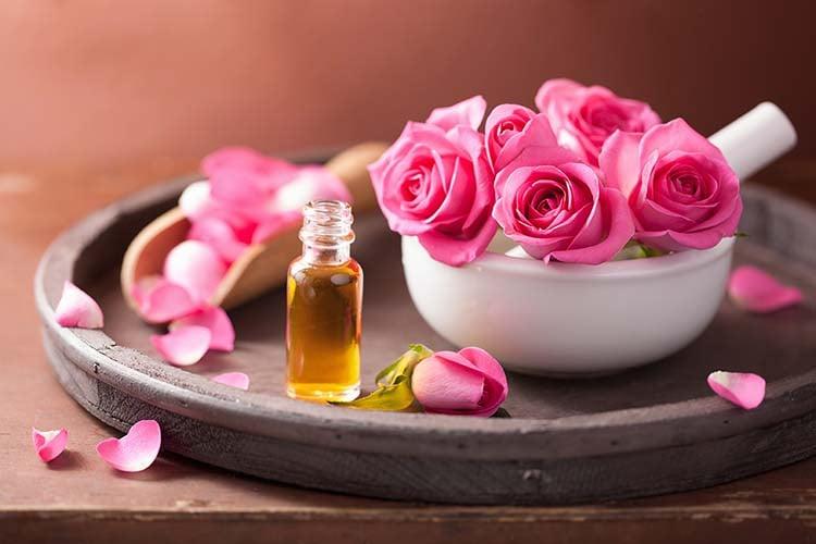 Rose Oil For Beauty