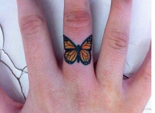 Simple Butterfly Tattoos