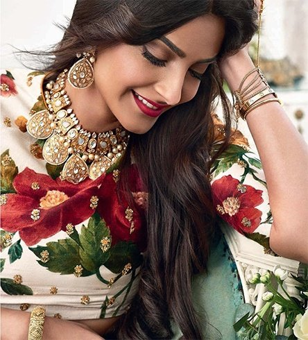 Sonam Kapoor on Khush Wedding Magazine