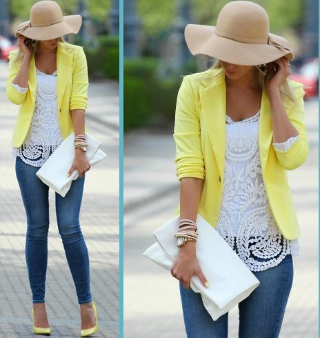 Spring Outfits For Latest Fashion Style