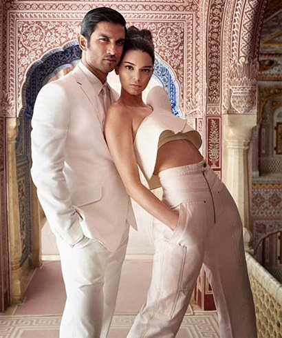 Sushant Singh Rajput and Kendall Jenner