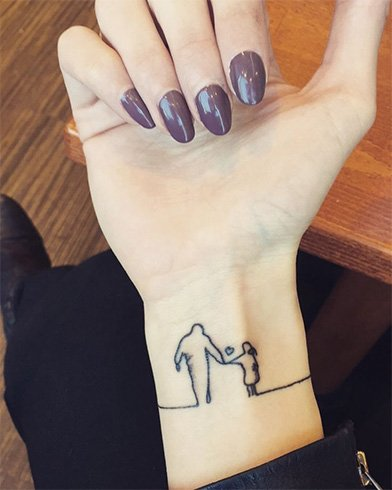 Father-Daughter Tattoos for Girls