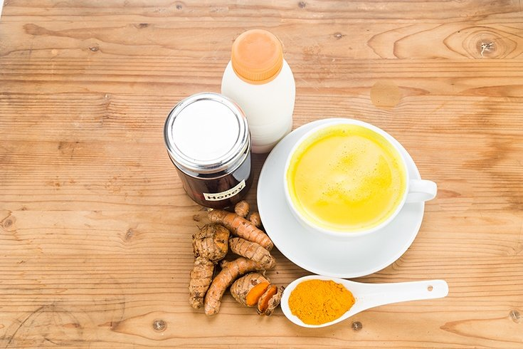 Turmeric Milk for Get Rid of Mucus and Phlegm