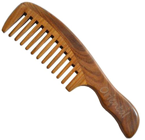 Wooden Comb for Dandruff