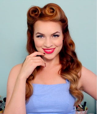 50s Long Hairstyles For Women