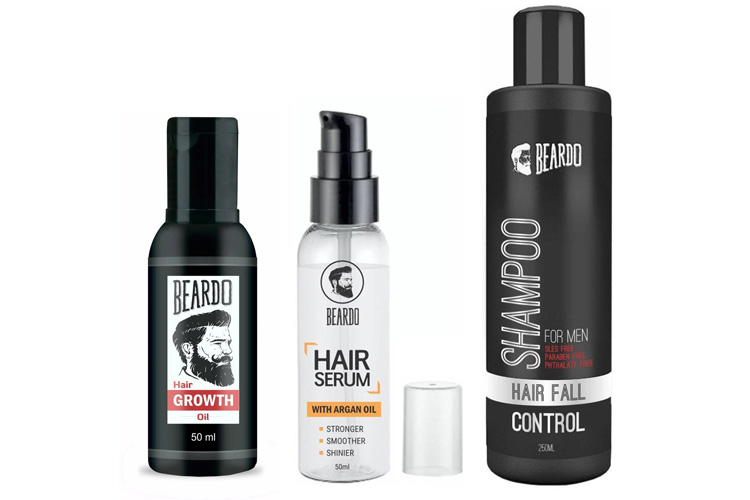 BEARDO Complete Hair Fall Control Kit
