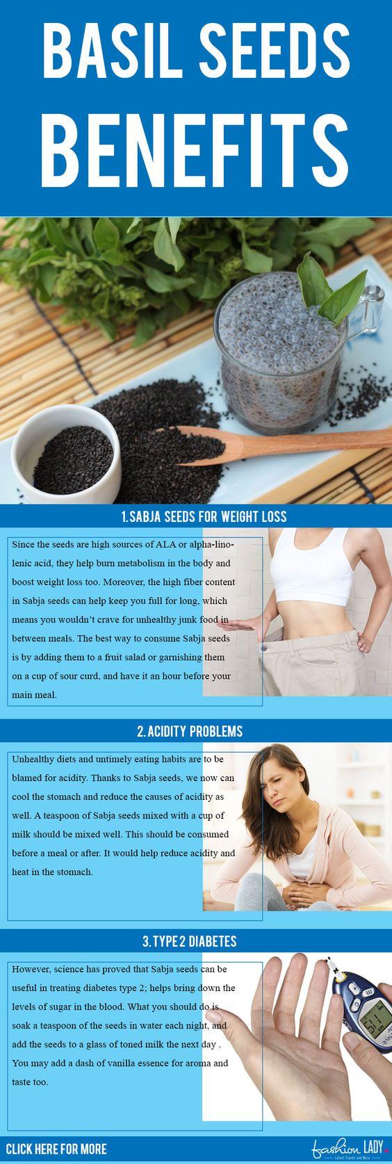 22 Hidden Basil Seeds (Sabja Seeds) Benefits For Health