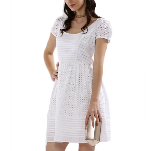 Cap Sleeve Mini Dress