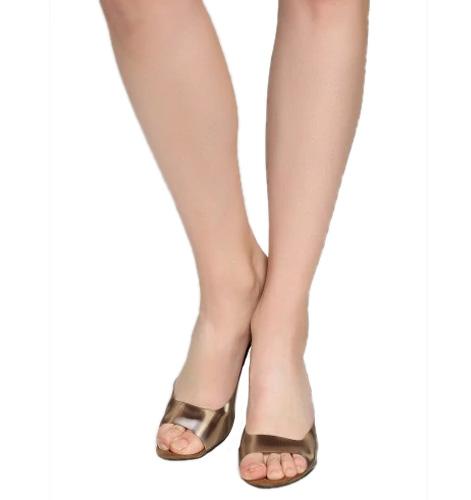 Catwalk Women Bronze-toned Sandals