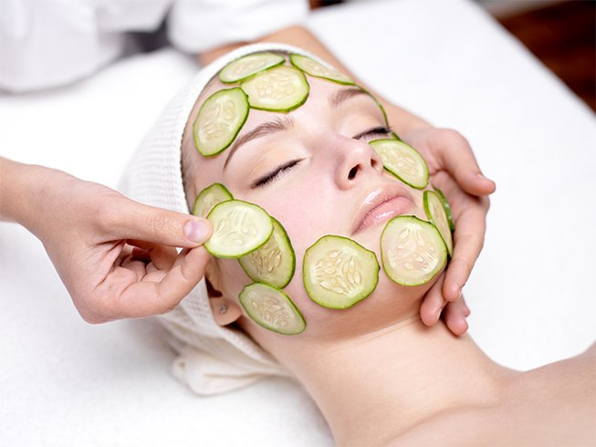 Cucumber Face Mask For Acne