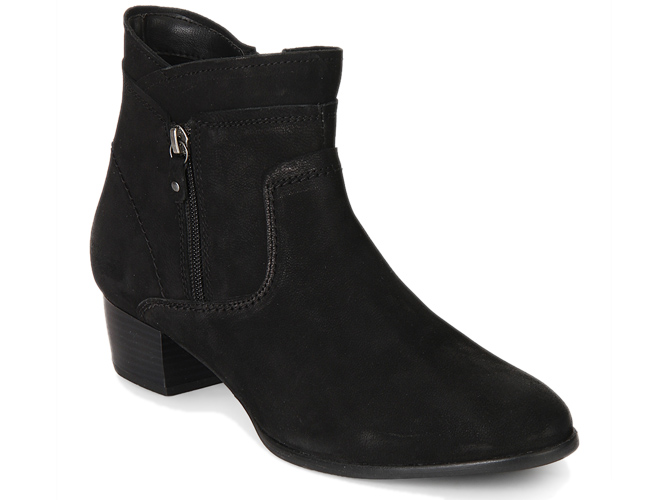 Kitty Black Ankle Length Boots