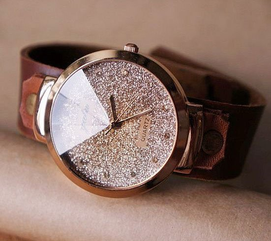 Leather Belt Watch