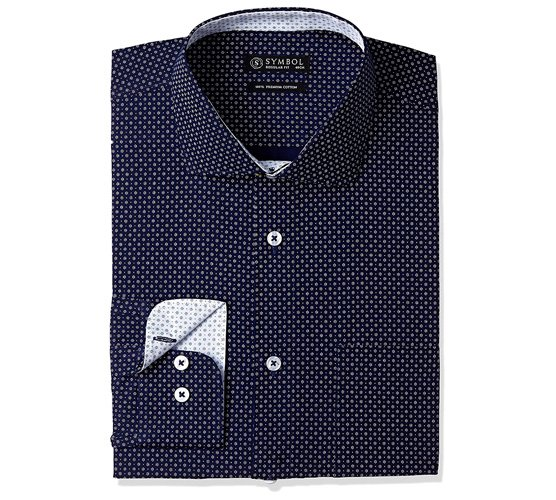 Symbol Men's Formal Regular Fit Shirt