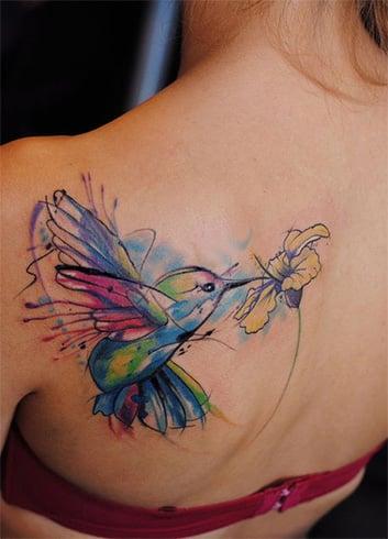 Amazing Hummingbird Tattoo Designs