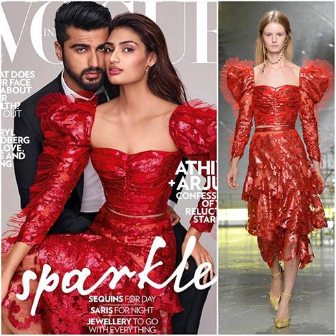 Athiya Shetty on Vogue