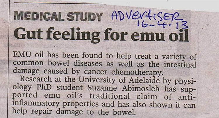 Benefits of Emu Oil for Health