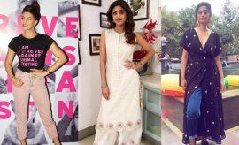 Celebrity Weekend Fashion