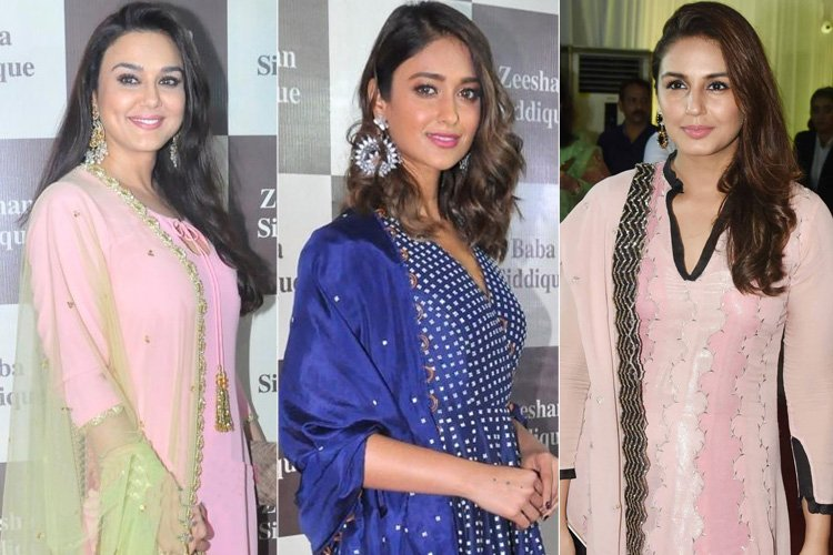 Celebs at Baba Siddiques Iftar Party