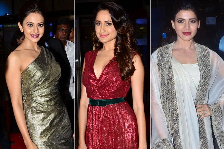 Celebrites at Jio Filmfare Awards South 2017