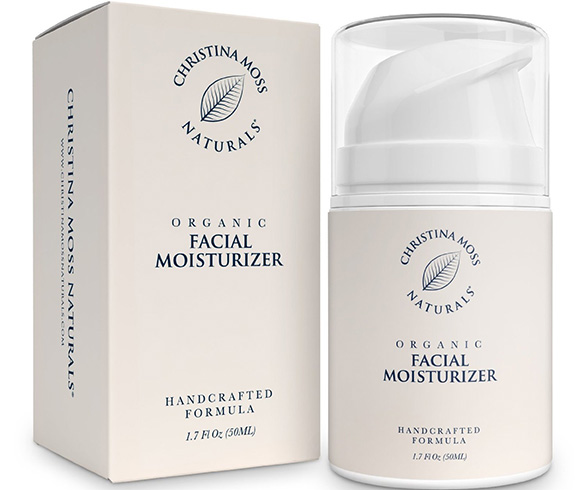 CHRISTINA MOSS NATURALS Organic Face Moisturizing Cream
