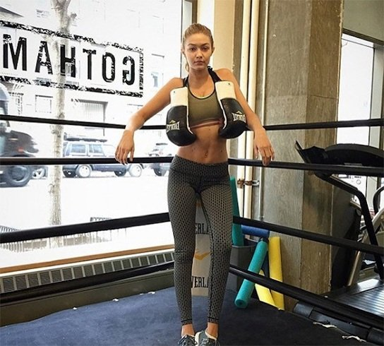 Gigi Hadid Workout