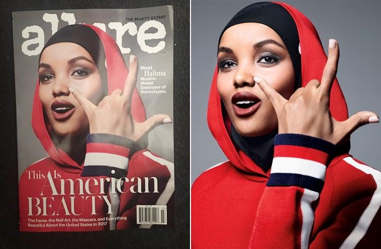 Halima Aden for US Allure