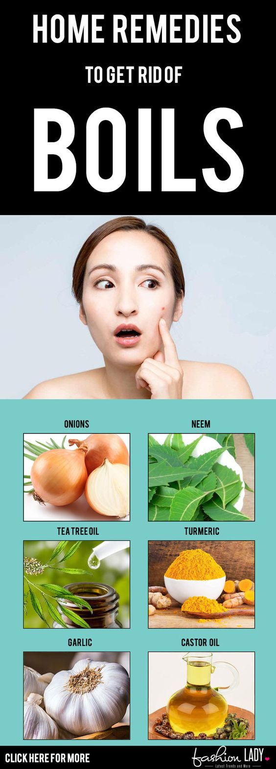 Home Remedies To Get Rid Of Boils